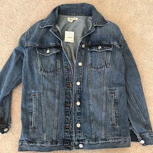 Madewell Boyfriend Fit Denim Jacket